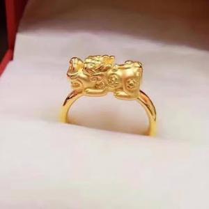 Nhẫn vàng tỳ hưu 24k